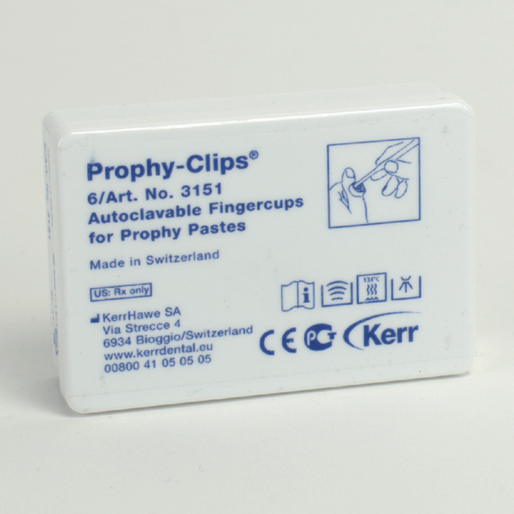 Cleanic Prophy-Clips 6St Nfpa