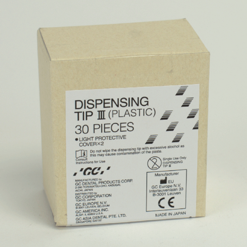 GC EUROPE: 004634 - Dispensing Tip III Plastik 30St