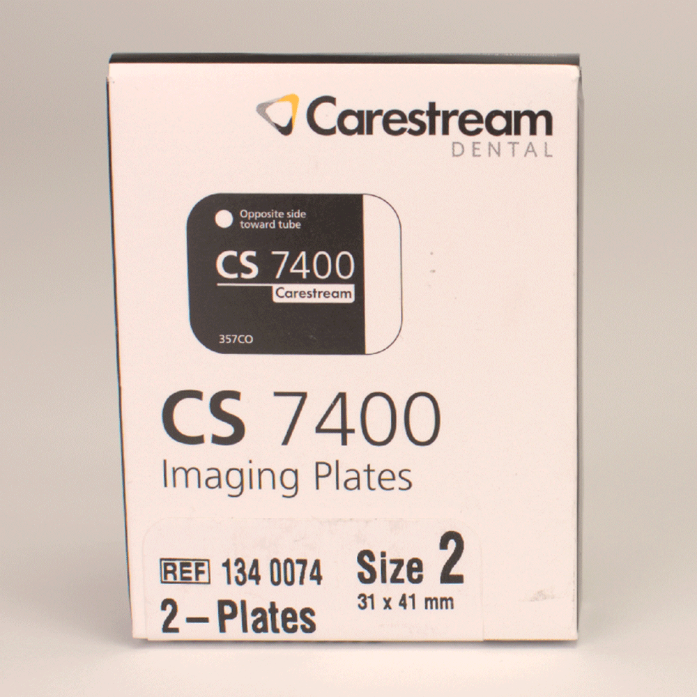 CARESTREAM: 1340074 - Speicherfolie intrao. Gr. 2 f.CS7400 2St
